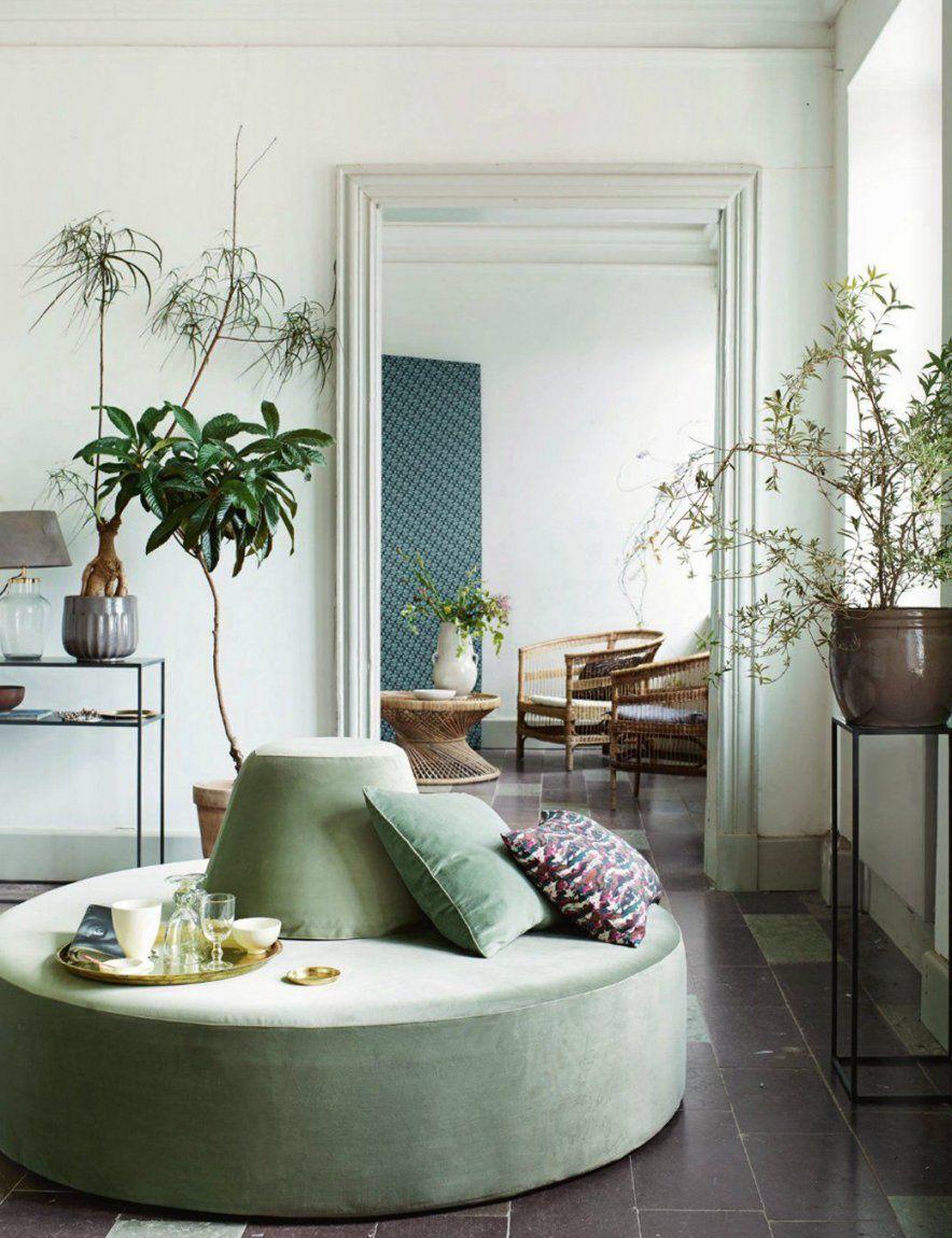 10 Scandinavian Interiors Trends Fallwinter 2016  Samt Sofa von Bilder Wohnzimmer Schöner Wohnen Bild