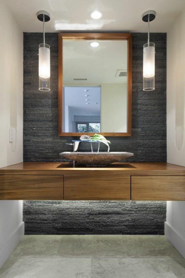 105 Badezimmer Design Ideen – Stein Und Holz Kombinieren von Badezimmer Ideen Mit Holz Bild