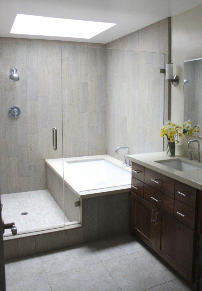 20 Ideen Für Kleines Bad Design  Platzsparende Badewanne von Kleines Badezimmer Design Ideen Bild