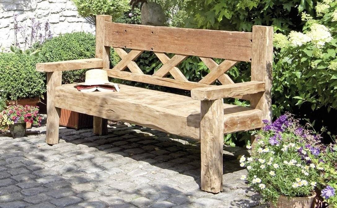 30 Beste Gartenbank Holz Massiv Rustikal Designideen  Garten von Gartenbank Holz Massiv Rustikal Photo