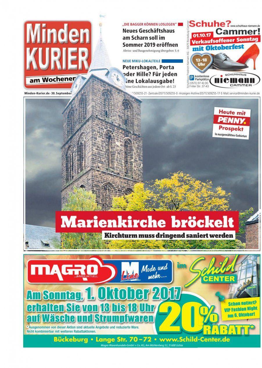 30 September 2017 – Marienkirche Bröckeltminden Kurier  Issuu von Porta Möbel Minden Verkaufsoffener Sonntag Photo