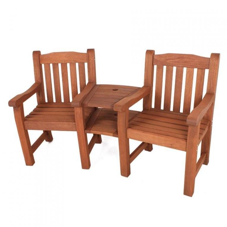 30 Tolle Gartenbank Zweisitzer Mit Tisch Designideen  Garten von Zweisitzer Gartenbank Mit Integriertem Tisch Photo
