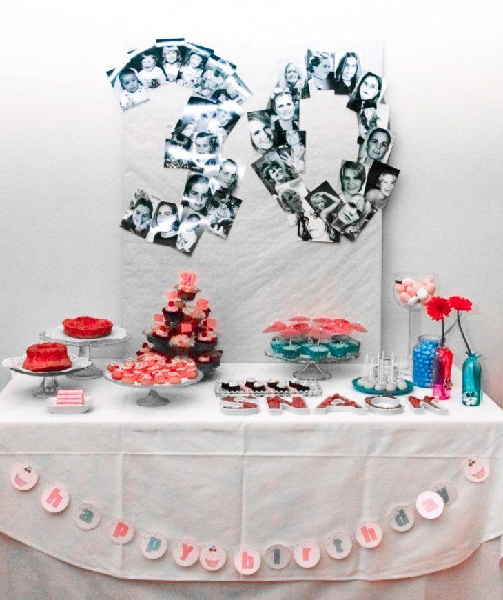 30Er Geburtstag Ideen von Deko Ideen 30 Geburtstag Bild