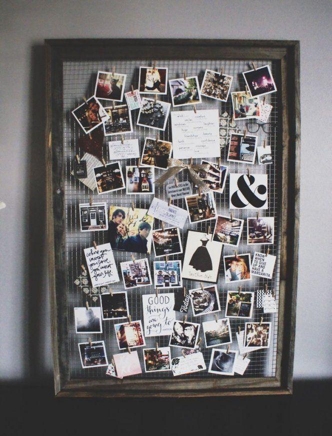 32 Photo Collage Diys For A More Beautiful Home  Fotocollagen von Collage Selber Machen Ideen Photo