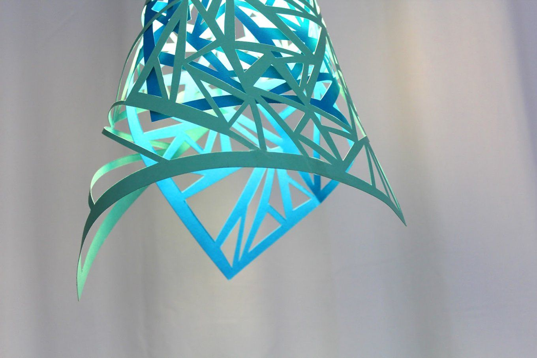 35 Bastelideen Für Diy Lampe  Freshouse von Do It Yourself Lampenschirm Bild