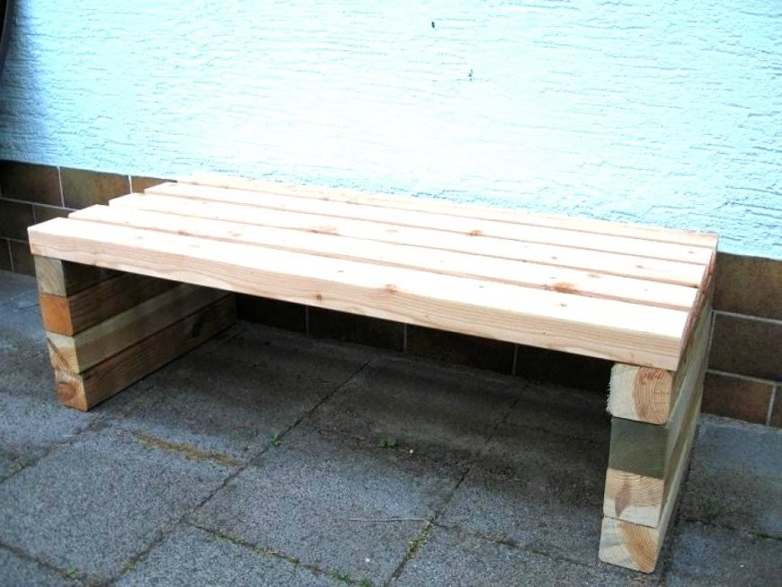 35 Einzigartig Holzbank Selber Bauen Bauanleitung Konzept von Massive Gartenbank Selber Bauen Bild