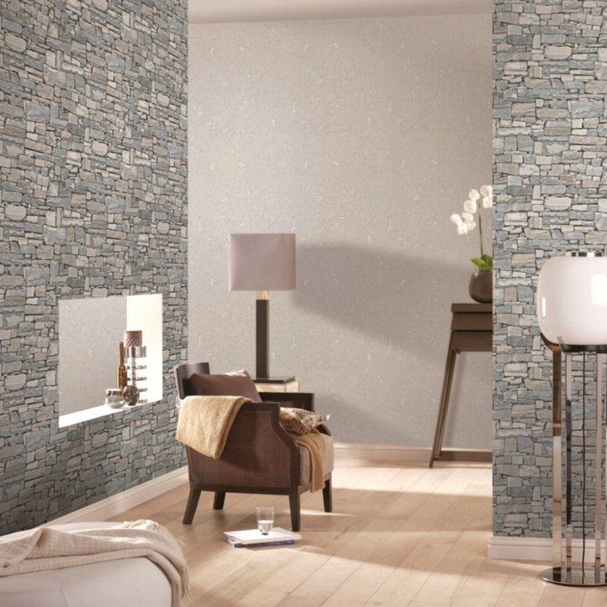 3D Tapete Stein von Tapete Steinoptik 3D Wohnzimmer Photo