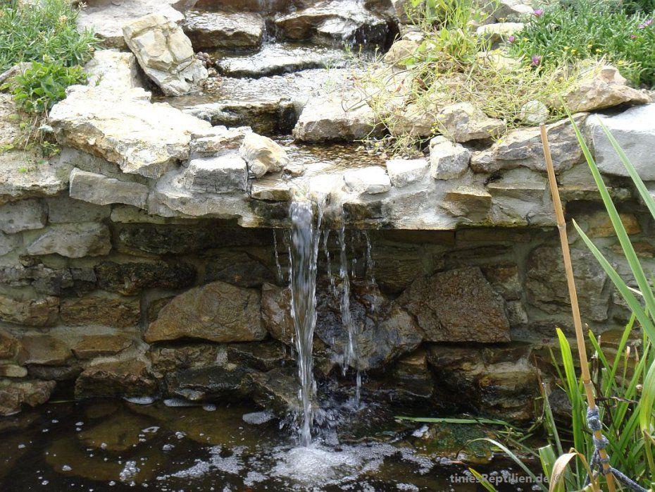 43 Wasserfall Terrarium Selber Bauen Dekoration Bilder Ideen Avec von Kleinen Wasserfall Selber Bauen Bild