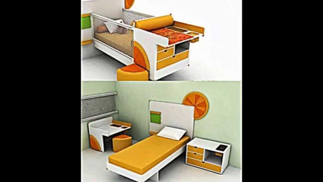 8 Praktische Ideen Für Möbel Für Kleine Räume  Youtube von Betten Für Kleine Räume Bild
