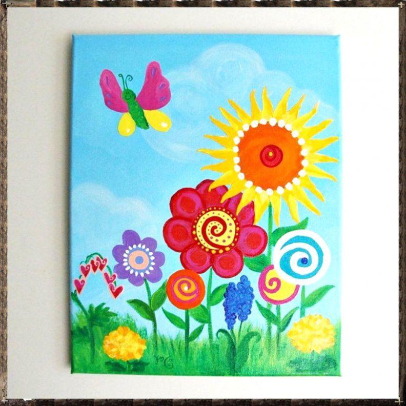 99 Bilder Für Kinderzimmer Selber Malen Ideen von Bilder Für Kinderzimmer Auf Leinwand Selber Malen Bild