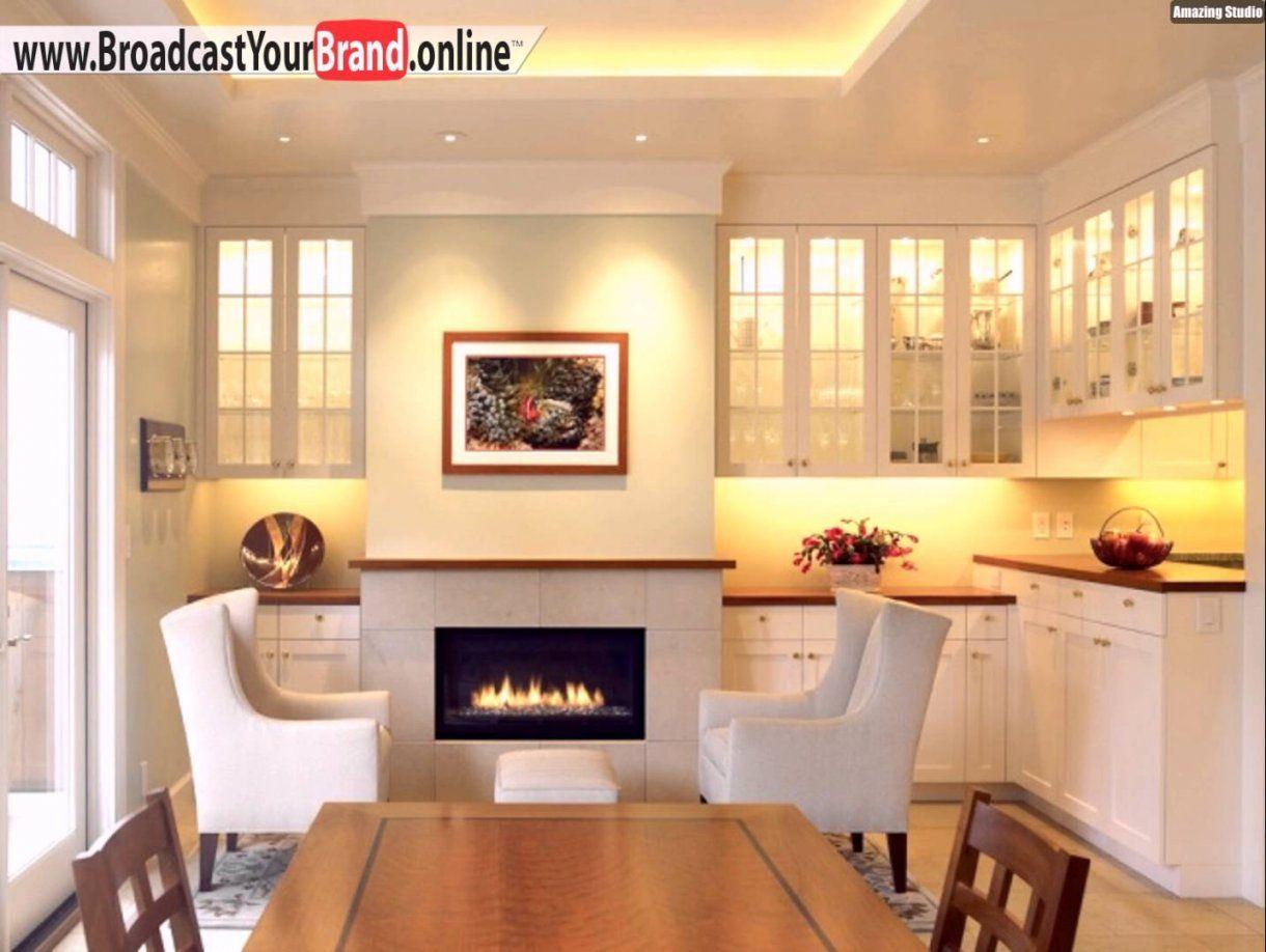 Abgehängte Decke Küche Weiß Landhaus Led Leisten  Youtube von Led Spots Decke Küche Bild
