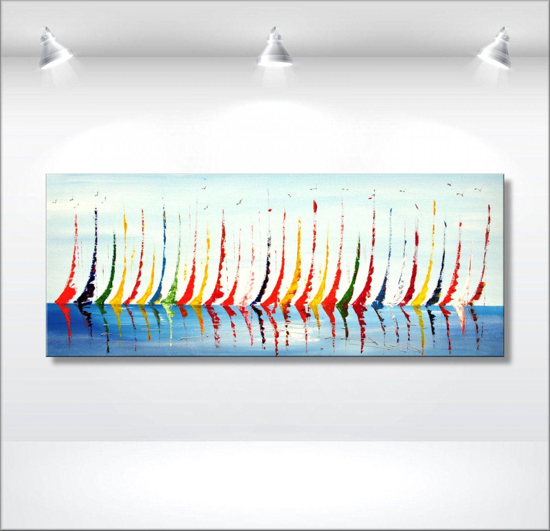 Abstrakt Gemälde Original Bild Kunst Modern Acryl Bilder Unikat Avec von Bilder Auf Leinwand Abstrakt Photo