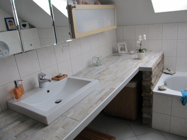 Adorable Badezimmer Waschbecken Selber Bauen Waschtisch Avec von Unterschrank Für Aufsatzwaschbecken Selber Bauen Bild