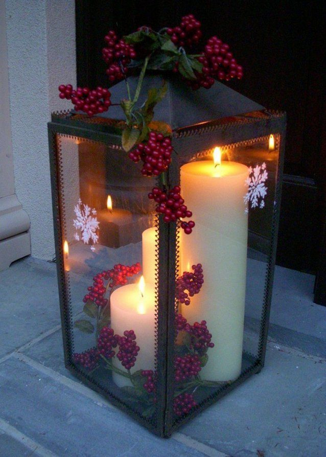 adventsdeko selber machen 18 sch ne ideen f r drau en von weihnachtsdeko aussen selber basteln. Black Bedroom Furniture Sets. Home Design Ideas