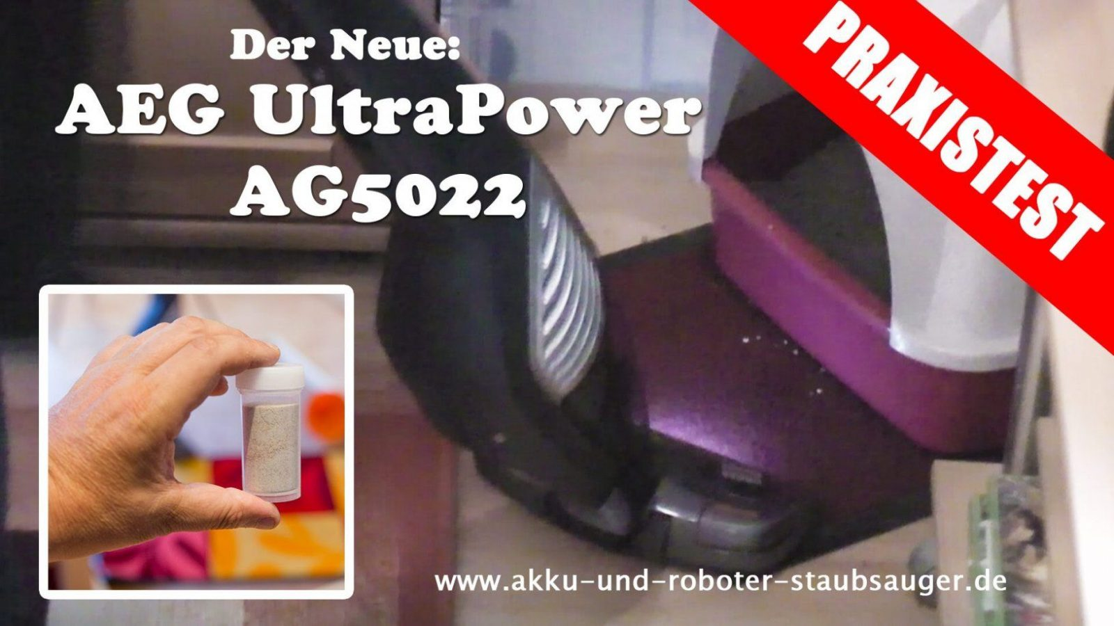 Aeg Li60 Ultrapower Ag 5022 Im Test  Praxistest  Youtube von Aeg Eco Li 60 Ultrapower Bild