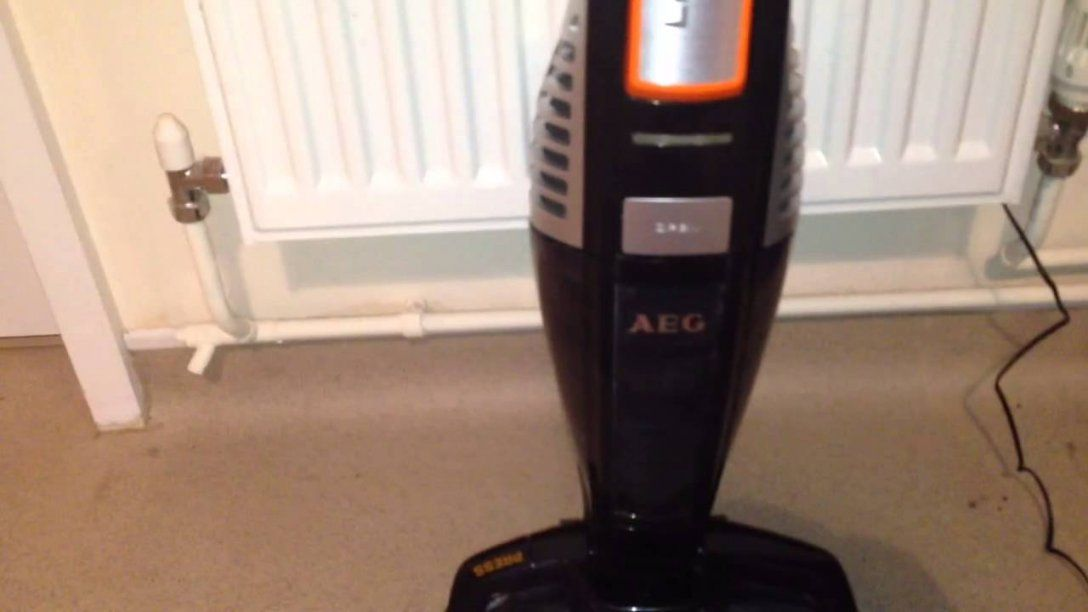 Aeg Ultrapower Ag5020 Cordless Vacuum Cleaner Review  Youtube von Aeg Eco Li 60 Ultrapower Bild