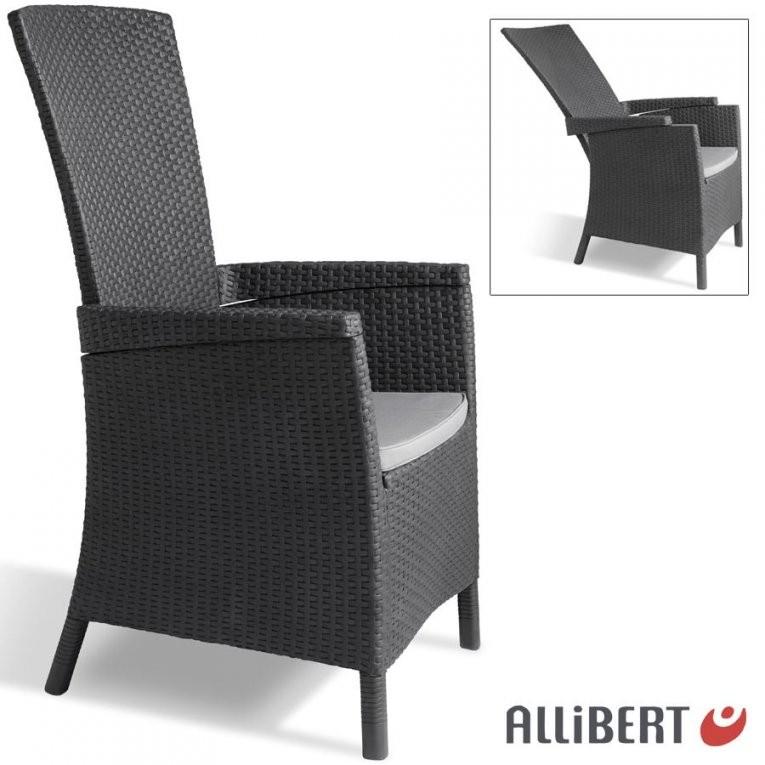 Allibert Lida Gartensessel 4Fach Verstellbar Liegestuhl Gartenstuhl von Gartenstuhl Mit Verstellbarer Rückenlehne Photo