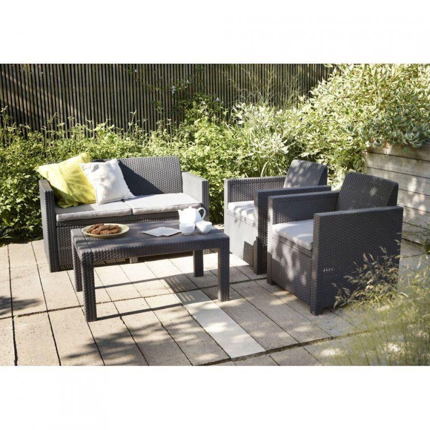 Allibert Merano Lounge Set Graphite  Garden Furniture From Garden von Allibert Lounge Set Merano Bild
