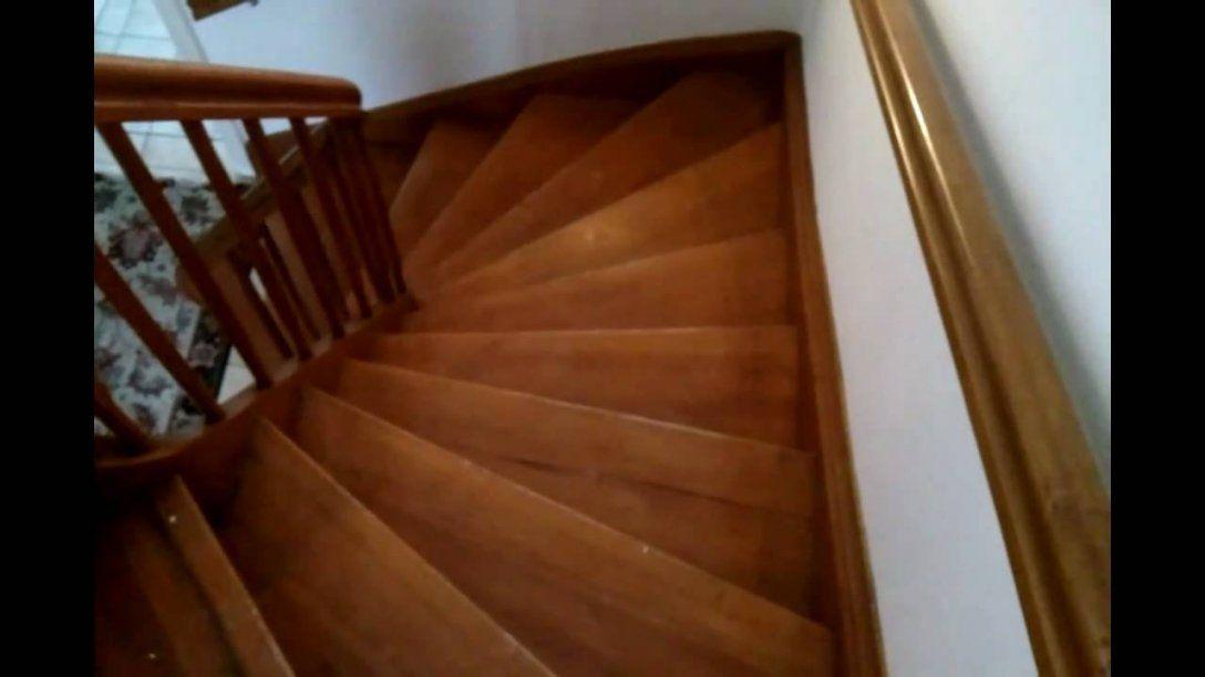 Alte Holztreppe Sanieren & Renovieren Hd Video Anleitung  Youtube von Holztreppe Streichen Ohne Abschleifen Photo