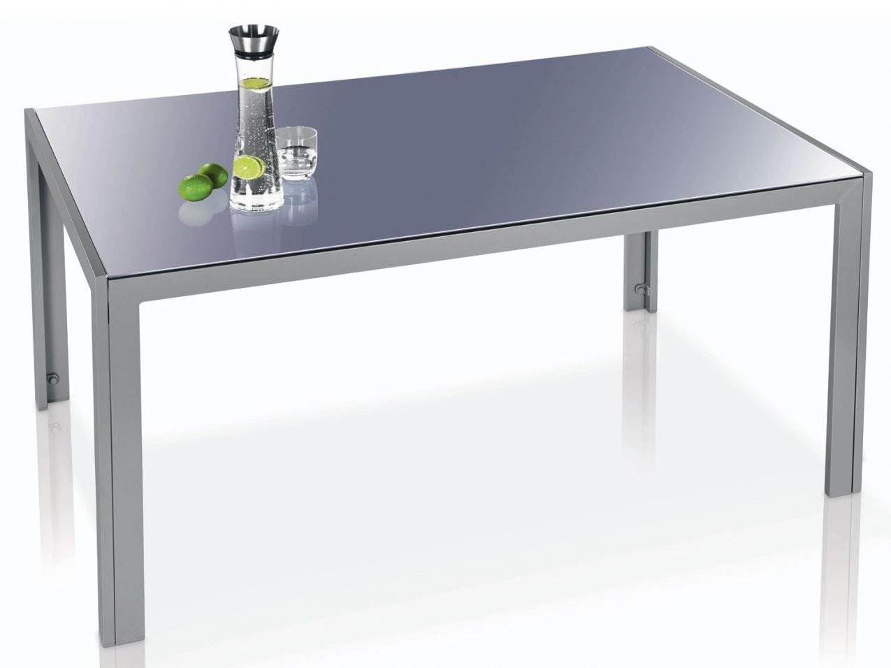 Aluminiumgartentisch Mit 6 Stühlen In Dunkel Oder Hellbraun  Tisch von Gartentisch Mit 6 Stühlen Bild