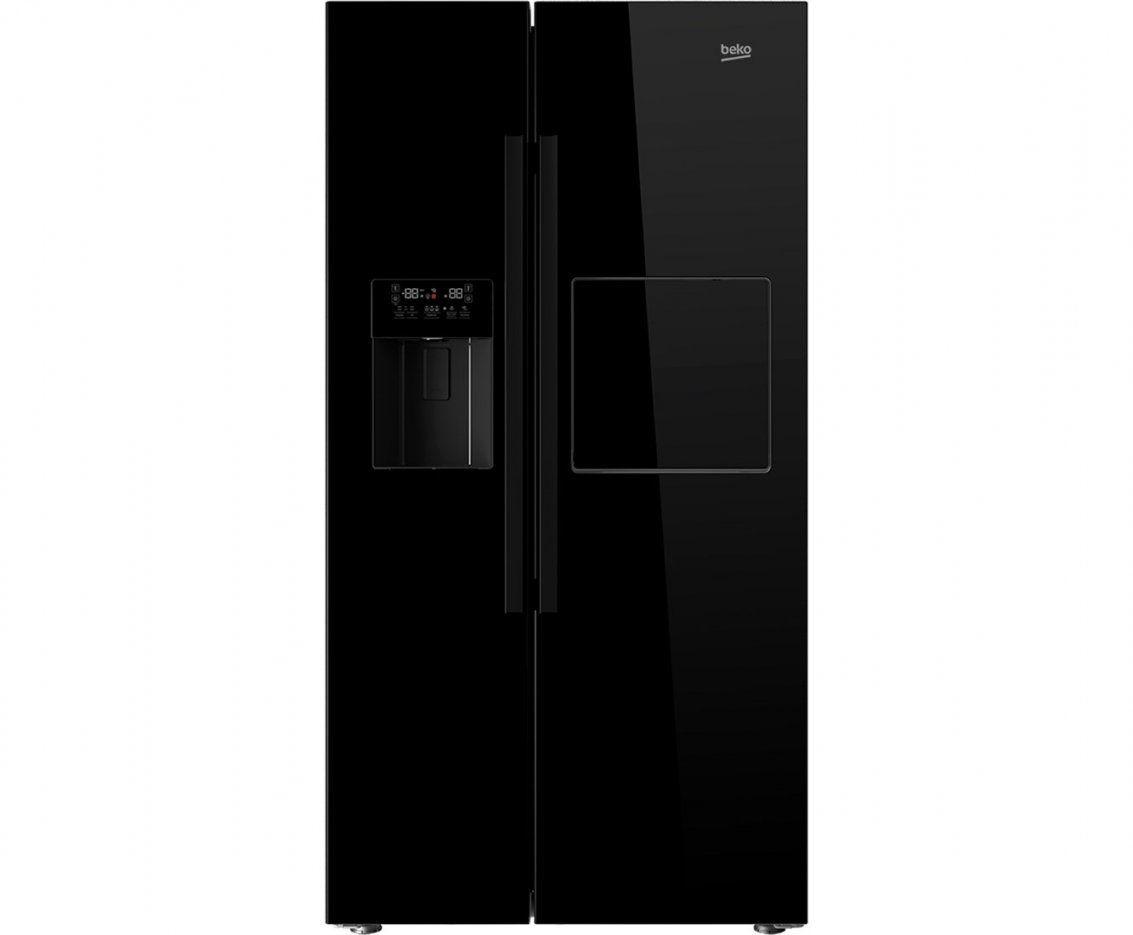 Amerikanische Kühlschränke Liebherr  Ambiznes von Side By Side Samsung Schwarz Photo