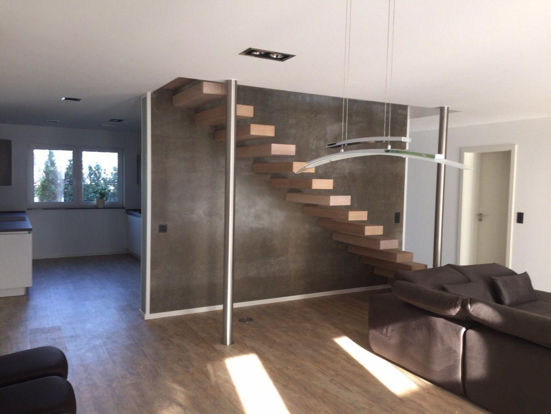 An Treppenbau Stahltreppen • Faltwerktreppen •holztreppen von Freitragende Treppe Selber Bauen Photo