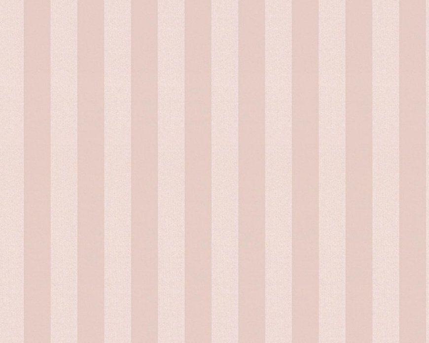 As Création Tapeten Günstig Online Kaufen  Real von Tapete Rosa Weiß Gestreift Bild