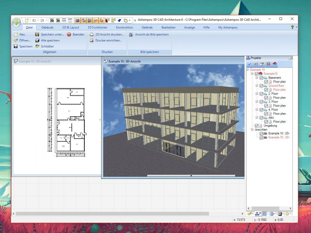 Ashampoo 3D Cad Architecture  Download  Chip von Innenarchitektur Programm Kostenlos Chip Bild