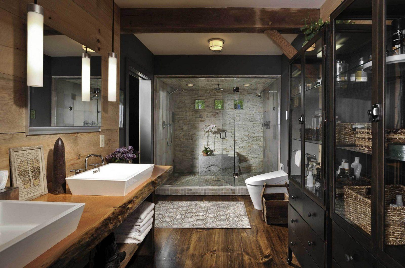 Astounding Inspiration Badezimmer Ideen Holz  Home Design Ideas von Badezimmer Ideen Mit Holz Bild