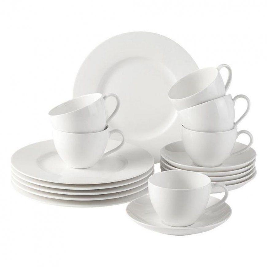 Astounding Villeroy & Boch Cellini 50 Piece Dinnerware Set Pictures von Villeroy Und Boch Geschirr Basic White Bild