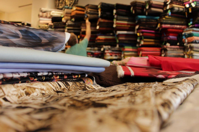 Auf Stoffjagd In Warschau – Ein Kleiner Guide Durch Ausgewählte von Stoffe Kaufen In Polen Bild