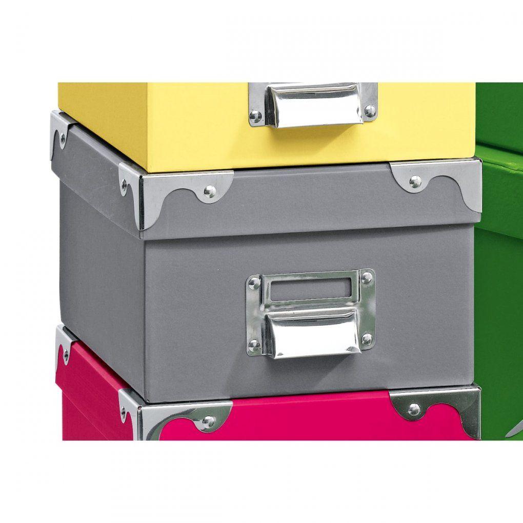 Aufbewahrungsbox Grau Ca 30 X 23 X 13 Cm  Möbel Boss von Sb Möbel Boss Einbeck Bild