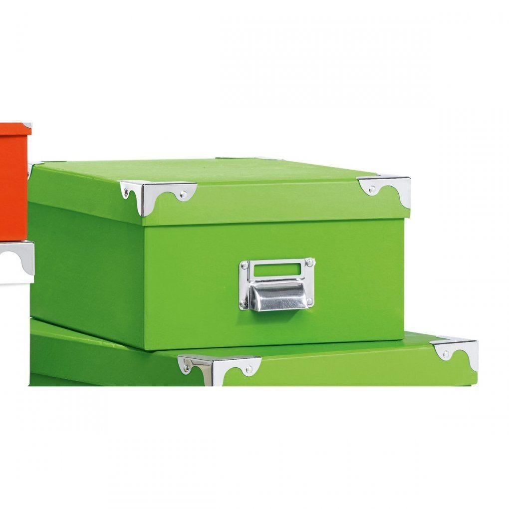 Aufbewahrungsbox Grün Ca 30 X 23 X 13 Cm  Möbel Boss von Sb Möbel Boss Einbeck Bild