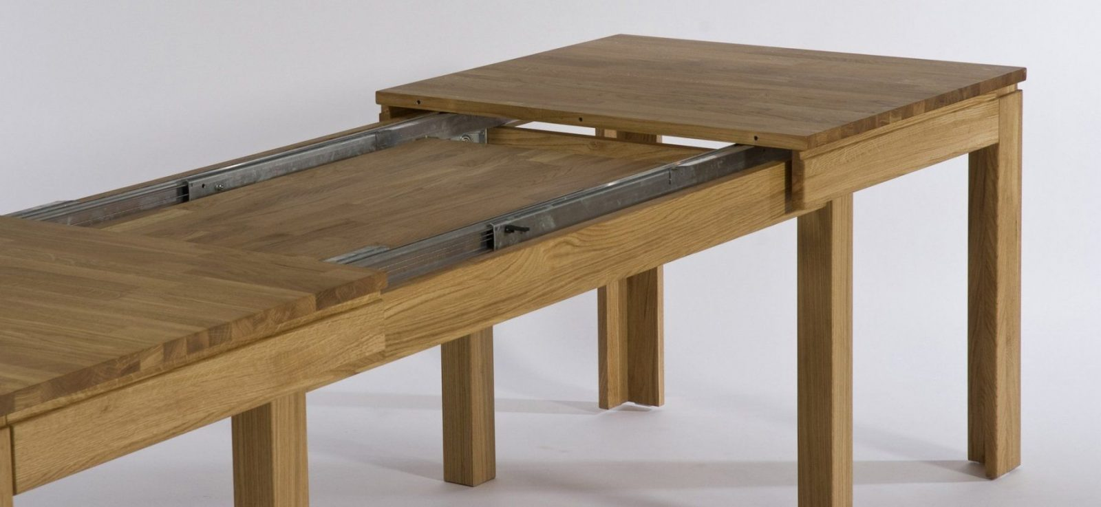 Ausziehbarer Esstisch Holz Tisch Selber Bauen Ausziehbar Glas Rund