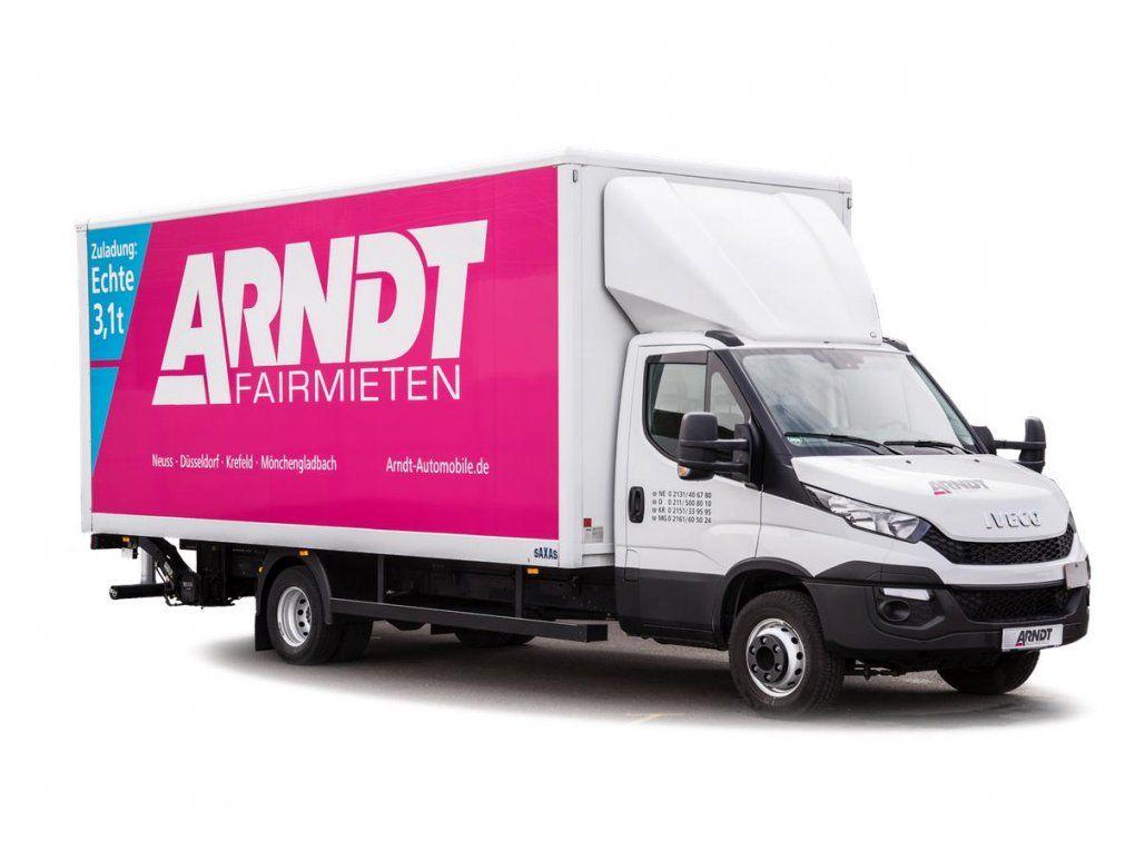 Autovermietung Arndt  Auto Transporter Und Lkw Günstig Mieten von Lkw 40 Tonner Mieten Bild