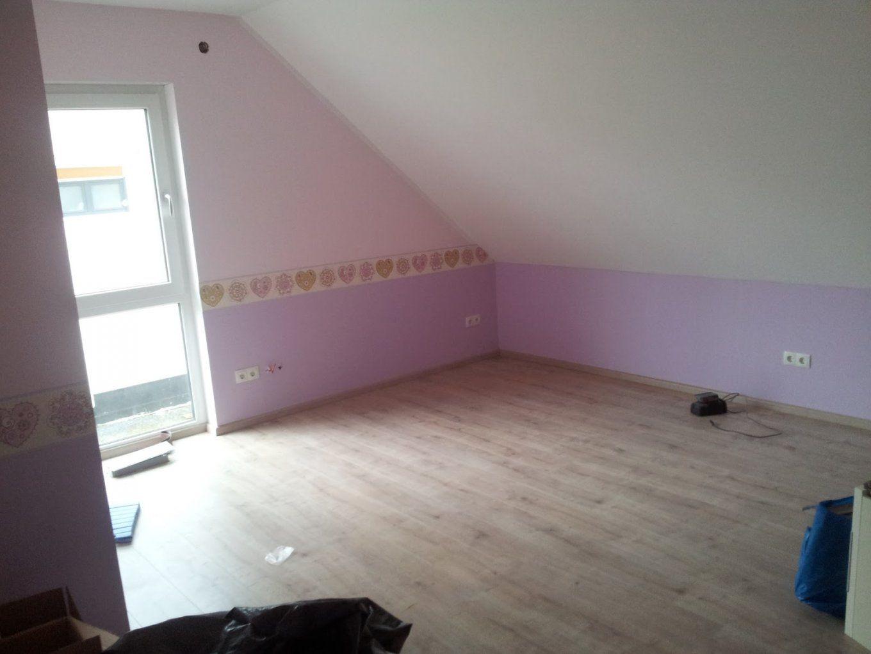 Kleines kinderzimmer mit dachschr ge haus design ideen - Kinderzimmer schrage ...