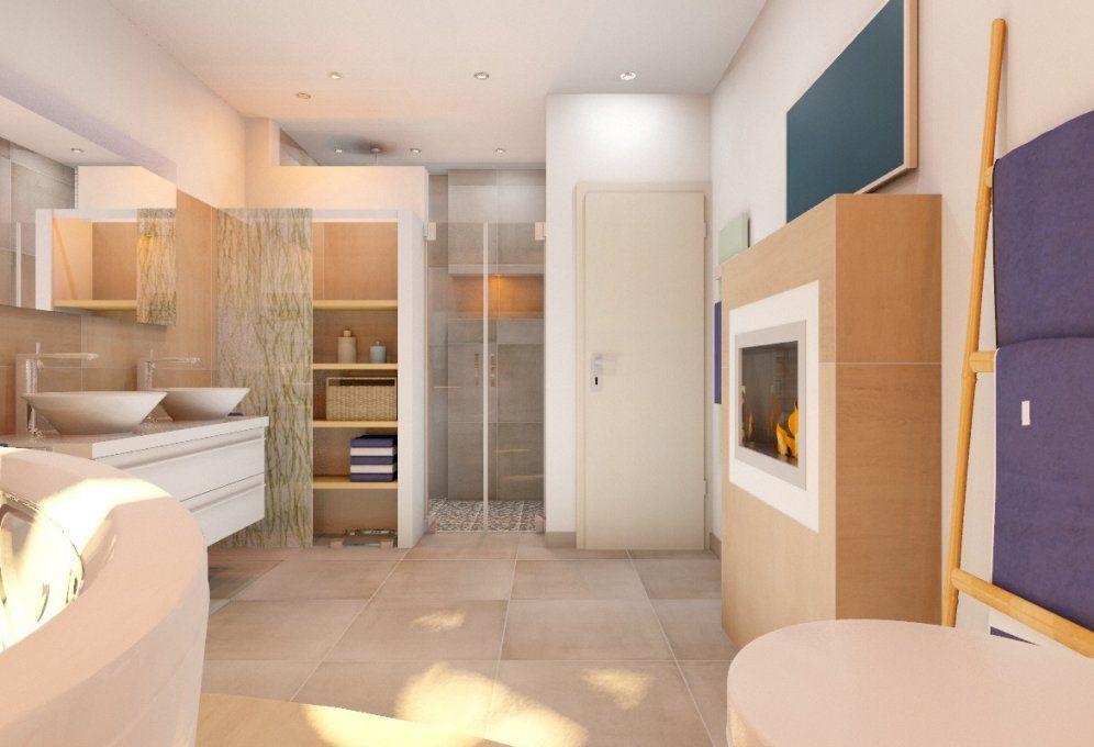 Bad 6 Qm Mit Badplanung Wohnbad Auf 13 Qm My Lovely Bath Magazin Für von Badezimmer Beispiele 10 Qm Bild