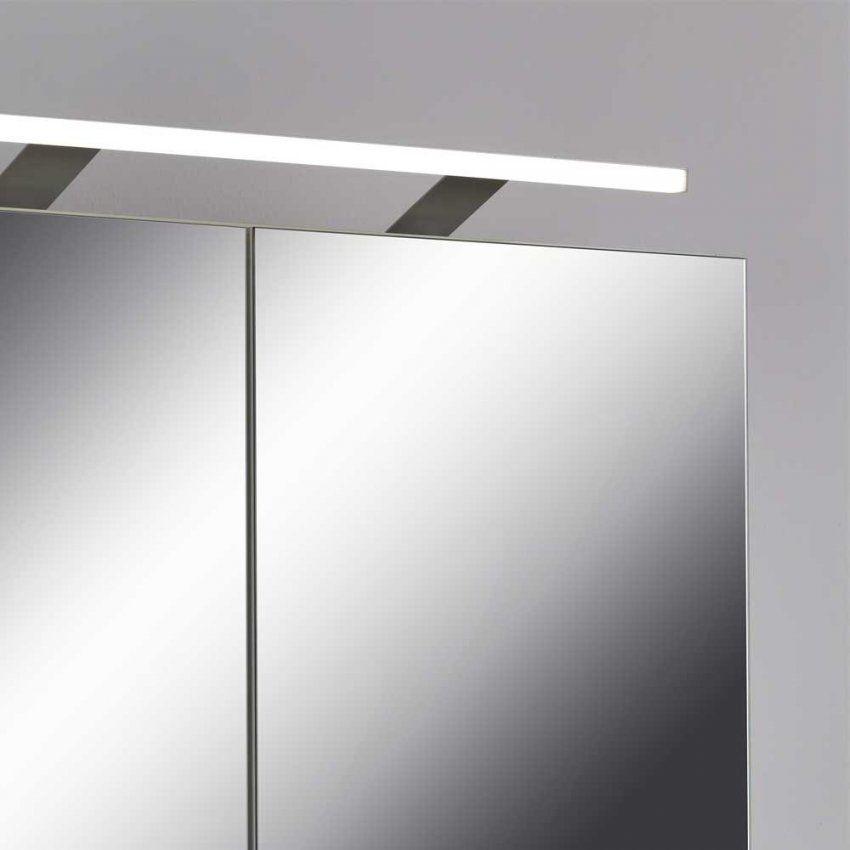 Bad Spiegelschrank Lirinas In Weiß  Pharao24 von Bad Spiegelschrank Led Leuchte Photo