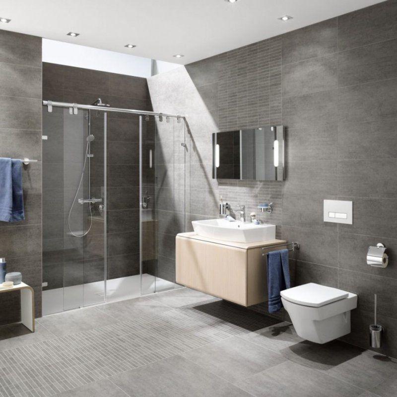 Badezimmer  Bad Ohne Fenster Gestalten Dachfenster Badezimmer von Kleines Bad Ohne Fenster Gestalten Photo