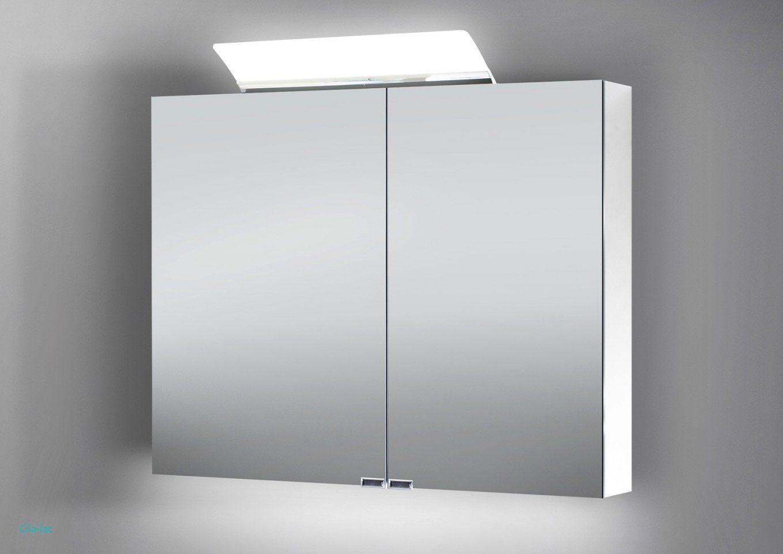 Badezimmer Fliesen Mit Spiegelschrank Led Beleuchtung Inspiration von Bad Spiegelschrank Led Leuchte Bild