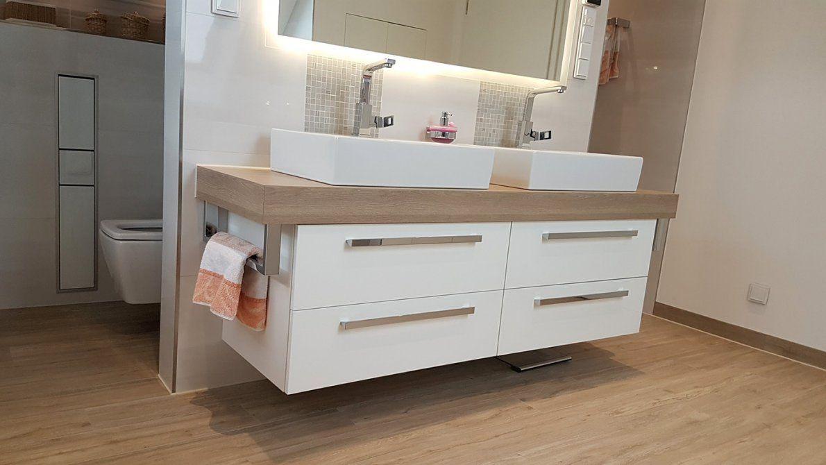 Badezimmer Fliesen Möbel Armaturen & Trockenbau von Unterschrank Für Aufsatzwaschbecken Selber Bauen Photo