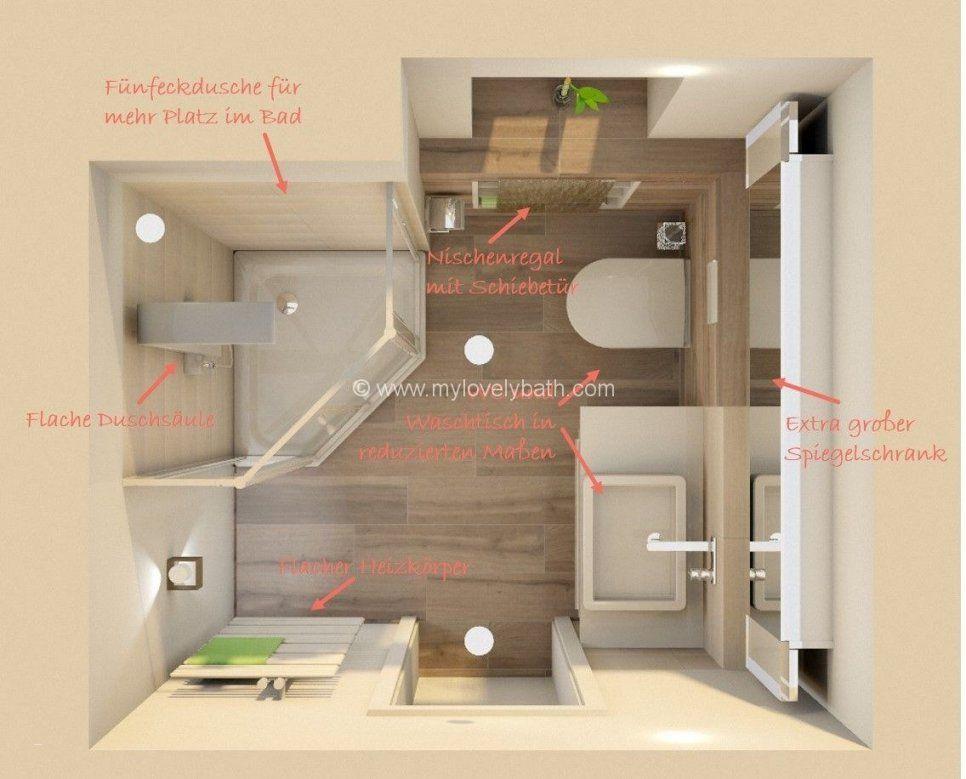 Badezimmer Planen Auf Kleinem Raum Schön Bad Ideen Haus von ...