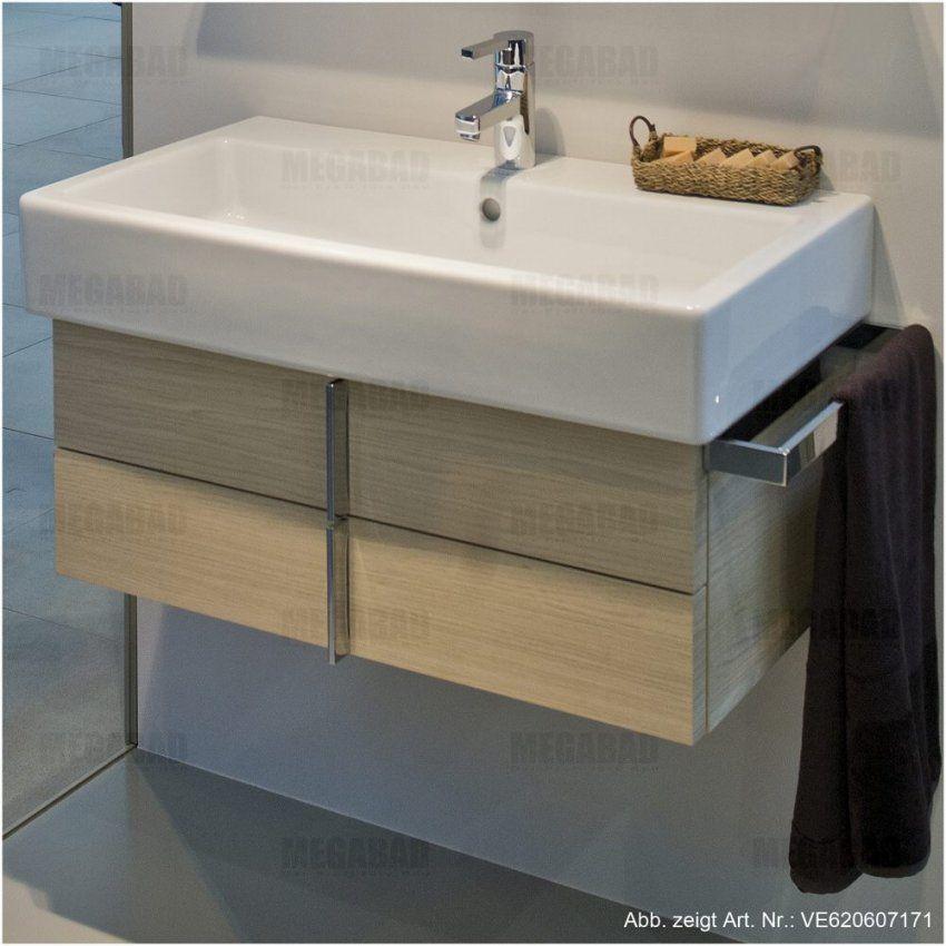Badezimmer Scenic Duravit Vero Waschtischunterschrank Fur Waschtisch von Waschbecken Mit Unterschrank 70 Cm Breit Bild