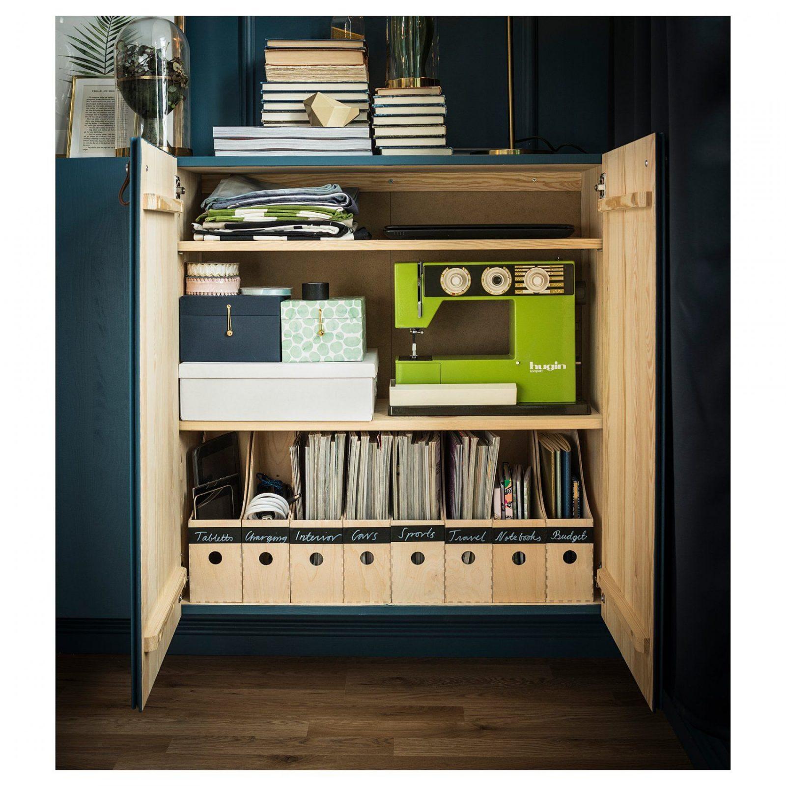 Badezimmer Schrank  Erstaunlich Ikea Ivar Einbau In Pantry All von Ikea Ivar Regal Montageanleitung Bild
