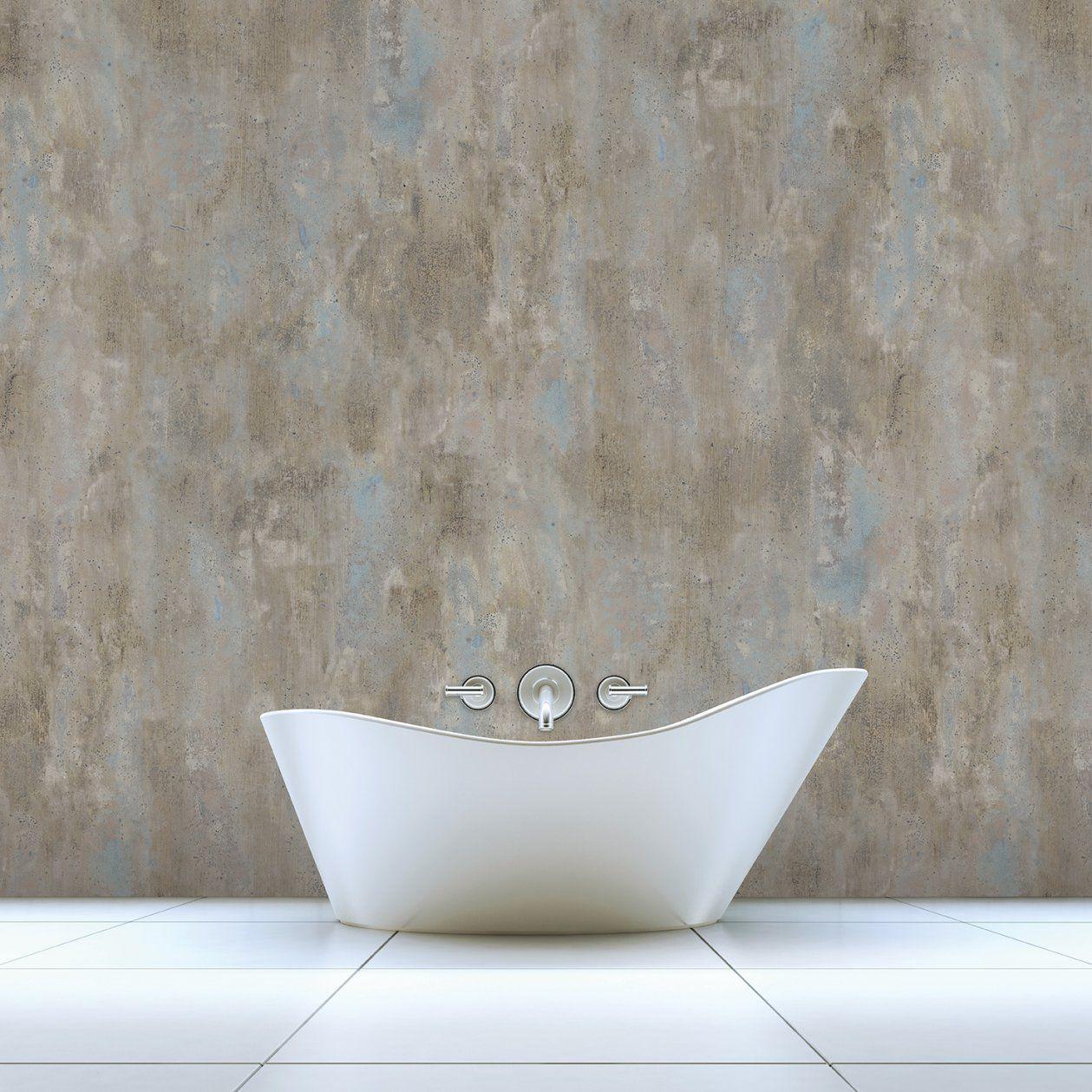 Badezimmer Tapeten  Der Tapetentrend Fürs Bad >> Raumkult24 von Wasserfeste Tapete Fürs Bad Photo