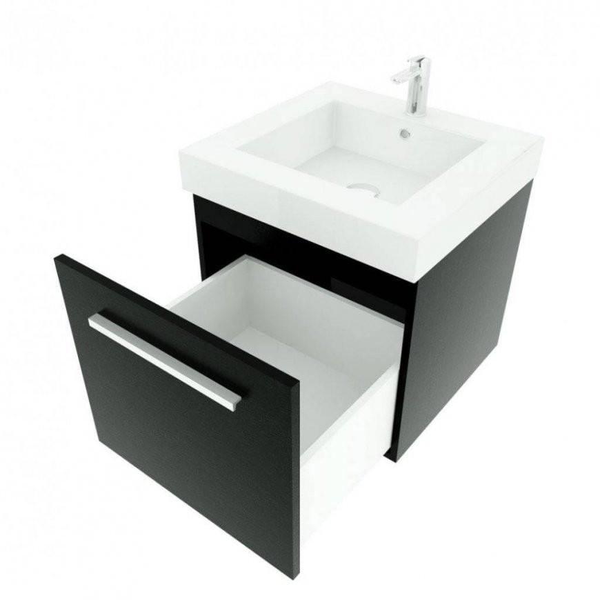 Badezimmer Waschtisch Mit Waschbecken Unterschrank City 100 Von von Waschbecken Mit Unterschrank 50 Cm Bild