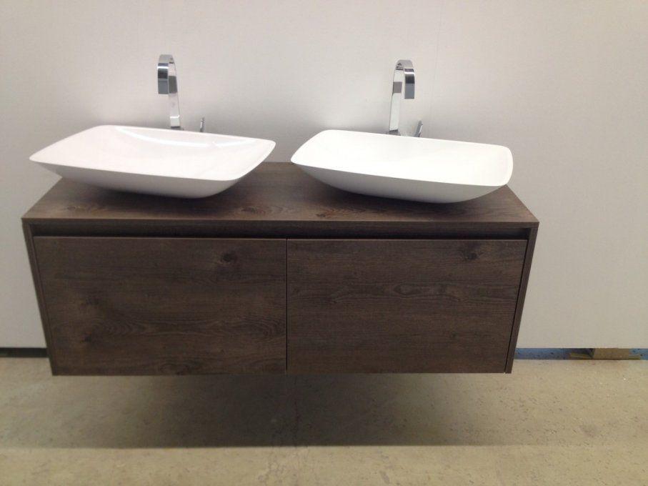 Badmöbel Unterschrank Ferrano Mit Waschbecken von Waschbecken Aufsatz Mit Unterschrank Bild
