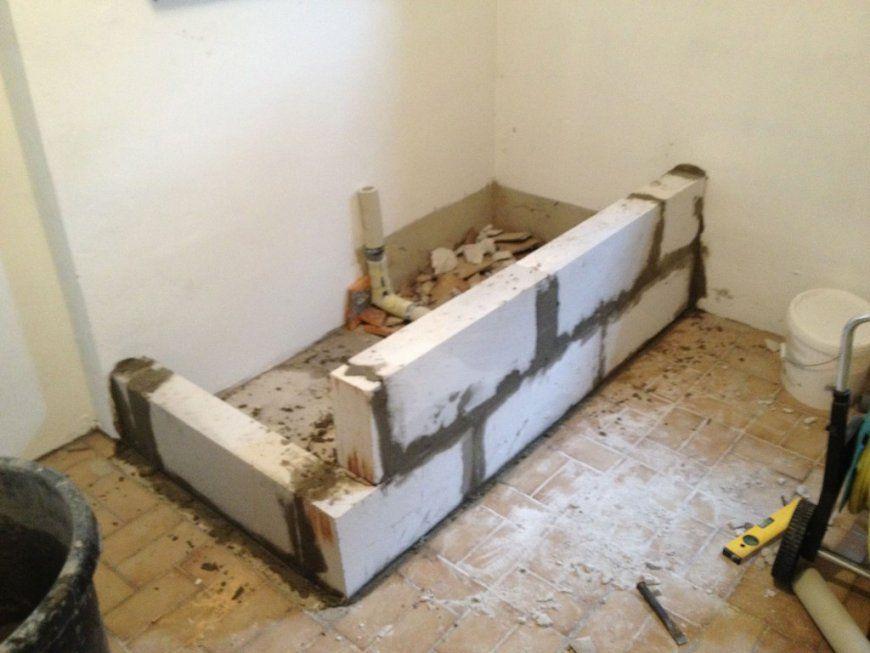 Bau Eines Waschmaschinen Podests Teil 1 Operation Eigenheim Avec von Podest Waschmaschine Selber Bauen Photo