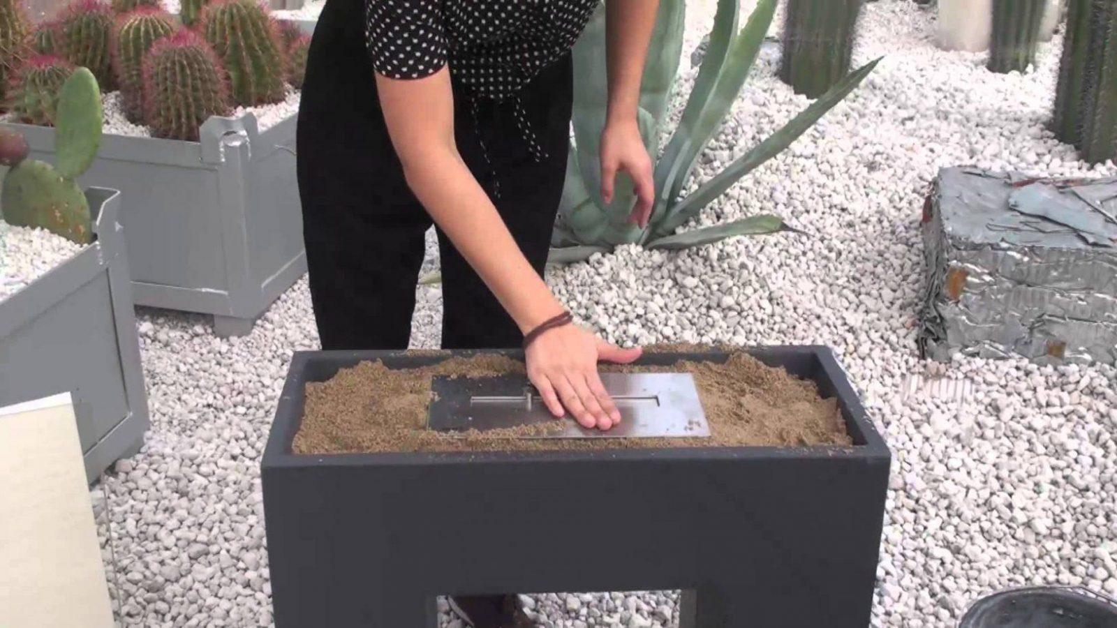Bauanleitung Ethanol Ofen Outdoor  Youtube von Ethanol Tischkamin Selber Bauen Bild