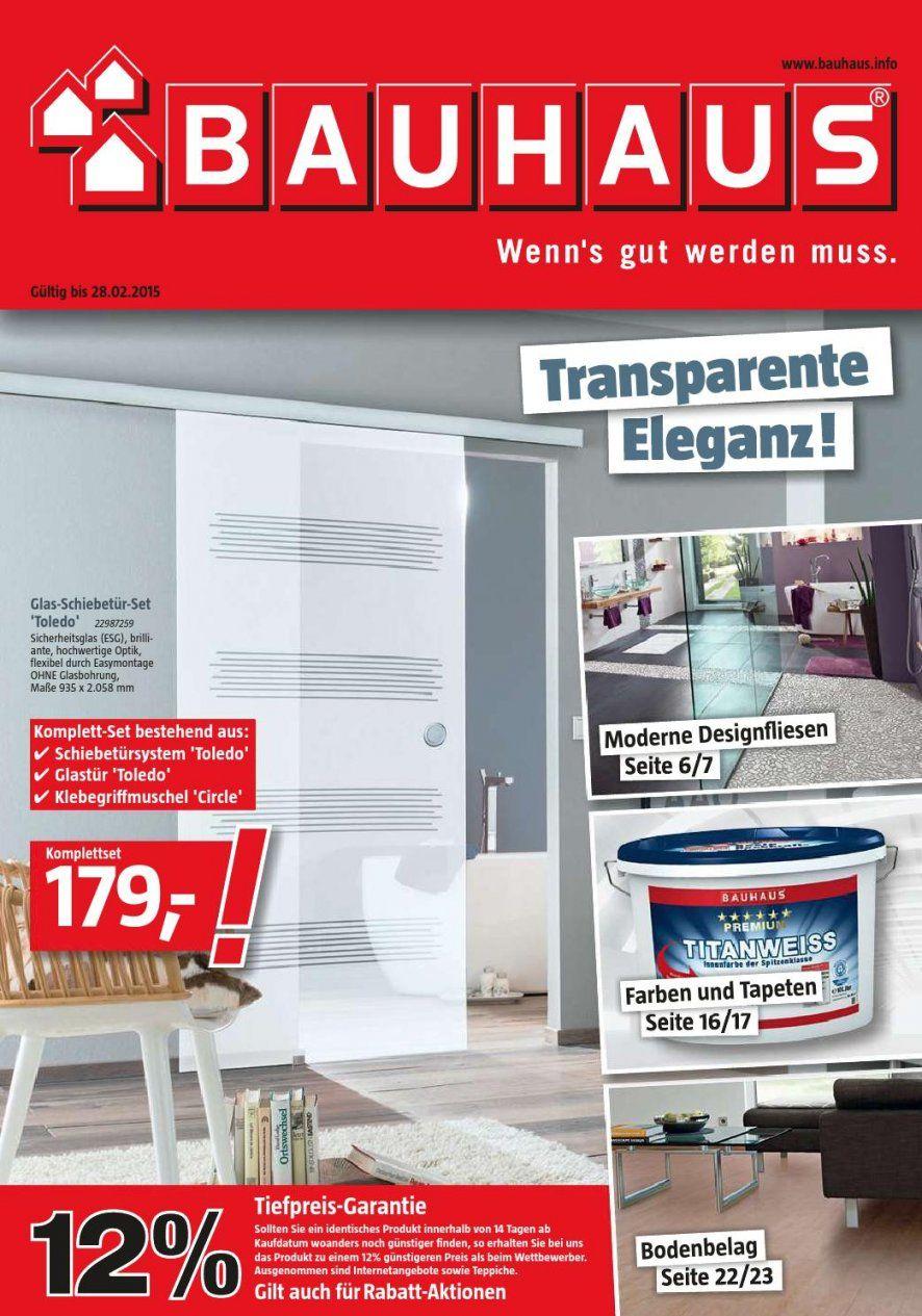 Bauhaus Angebote 2 28Februar2015Promoprospekte  Issuu von Glastür Mit Zarge Bauhaus Bild